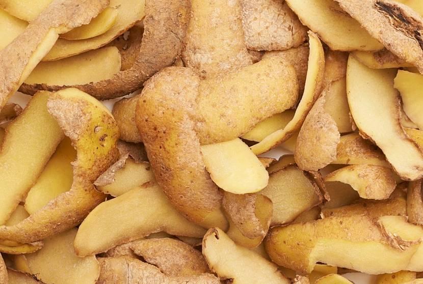 Картофельные очистки – проверенный народный способ удаления сажи