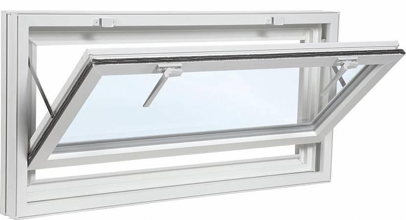 Фрамужное пластиковое окно