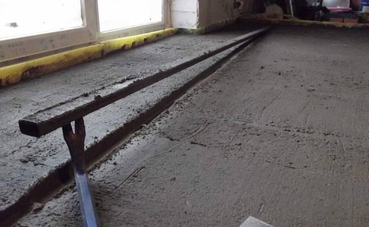 Сухая стяжка керамзитобетоном бетон профсоюзная