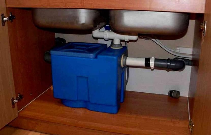 Бытовой пластиковый жироуловитель под мойку