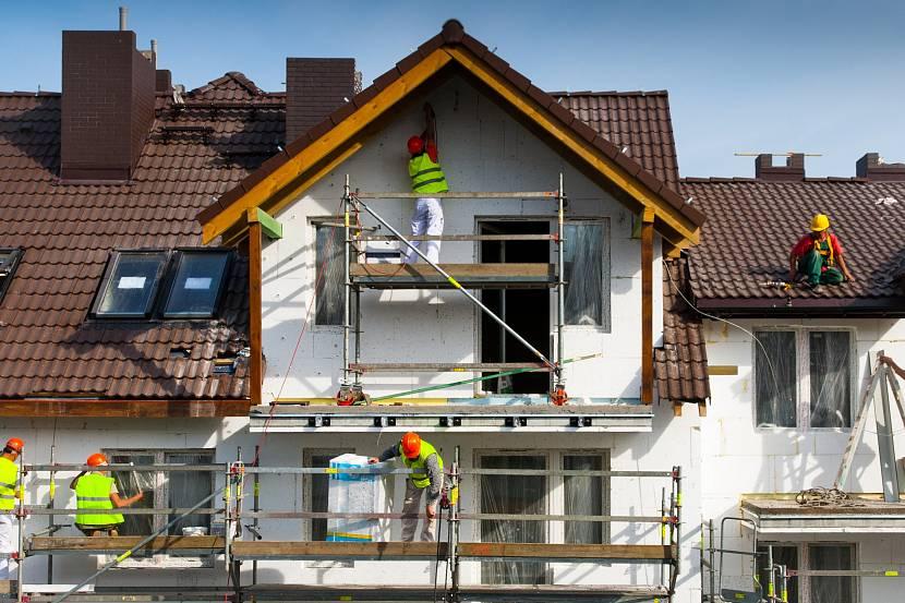 Фасадные работы на высоте