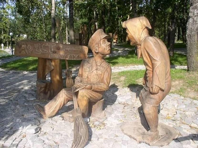 объемные фигуры из дерева