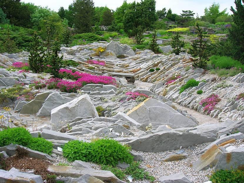Каменистые альпинарии