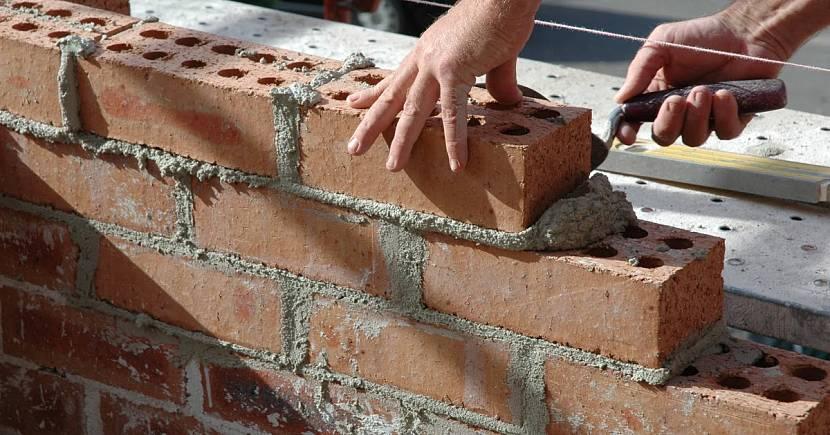 Для несущих стен применяется раствор марки М50