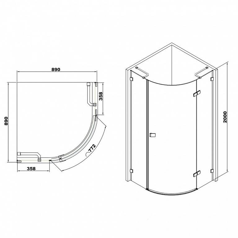 У открытых моделей внутренняя площадь больше