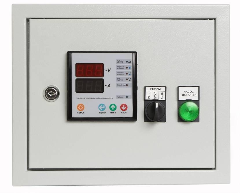Блок управления автоматикой скважины