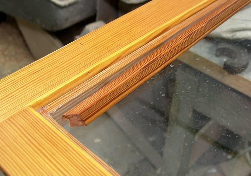 Штапик для деревянных рам