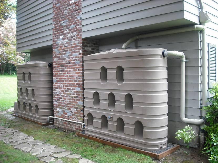 Емкости для сбора дождевых стоков