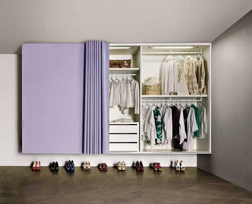 Штора для шкафа
