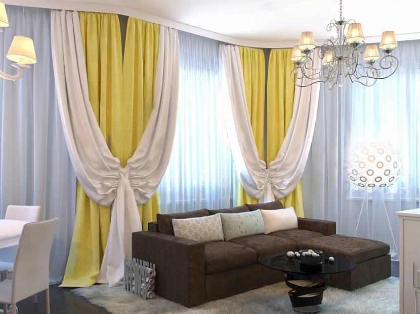 желтые шторы в гостиную фото так сарафанами морскими
