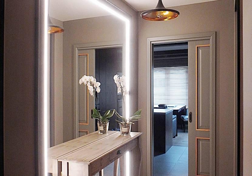 Подсветка светодиодами зеркала