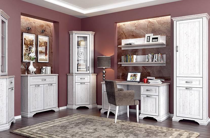 Белая мебель для интерьера тиффани