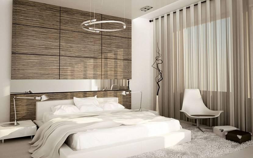 3Д панели в спальне