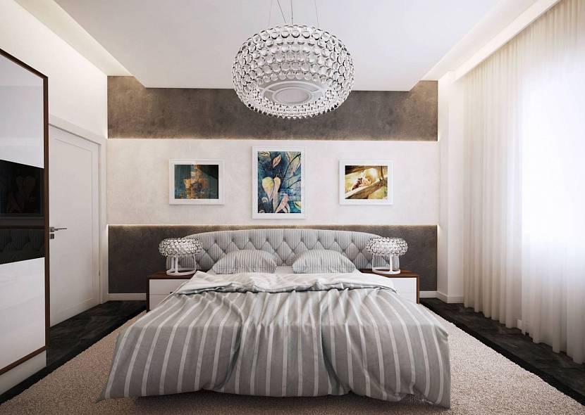 люстра для спальни с натяжным потолком
