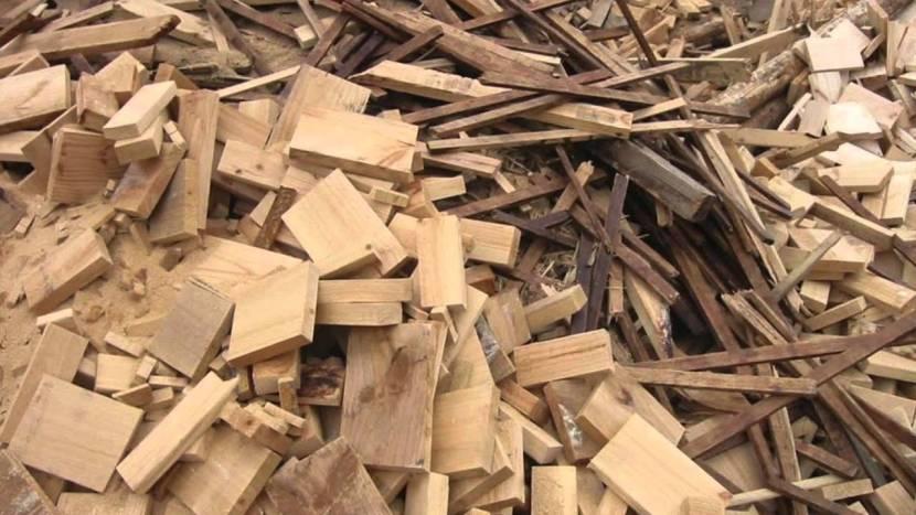 На дрова обычно идут только отходы