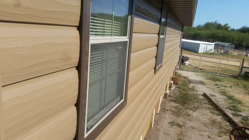 Обшивка окна без использования отлива
