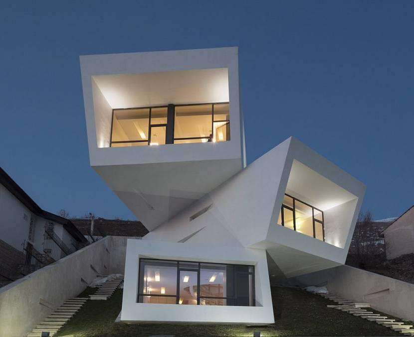 Нестандартный модульный дом