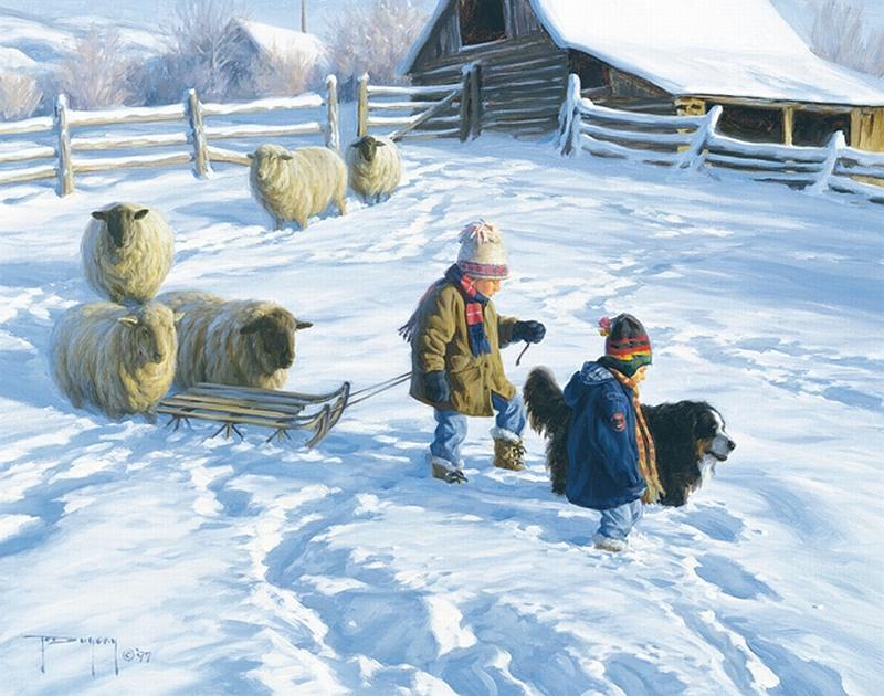 Аренда загородной недвижимости зимой