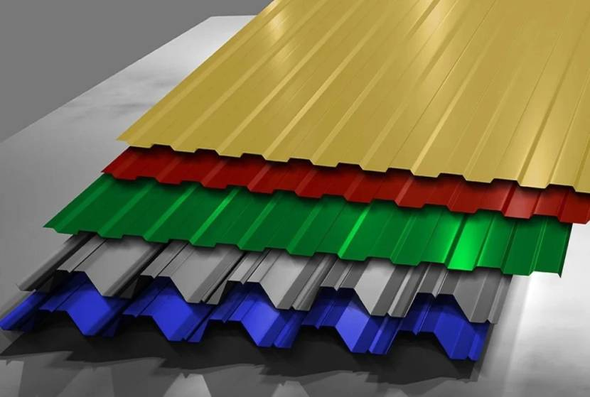 Образцы материала разного цвета
