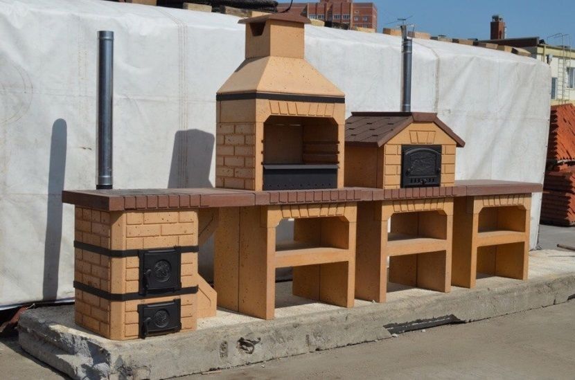 дровяная печь уличная
