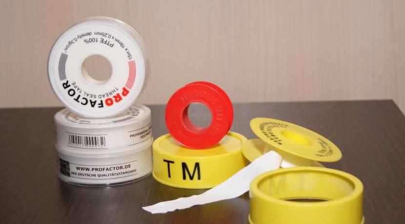 Фум-лента может использоваться как уплотнитель