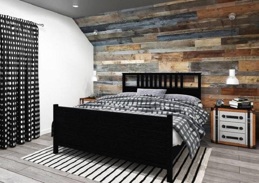 Кровать в гранж направлении
