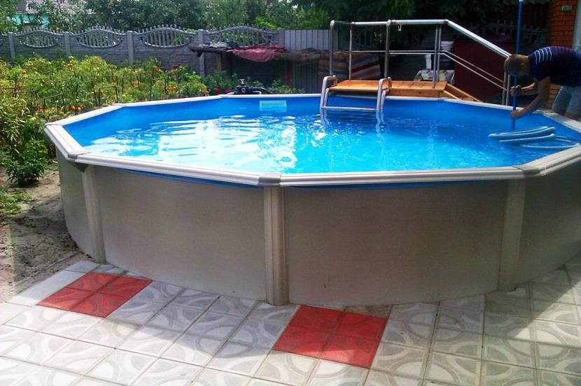 купить бассейн для дачи