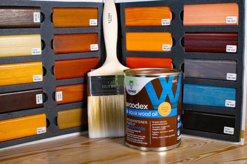 Разноцветные лаки для изменения оттенка столешницы