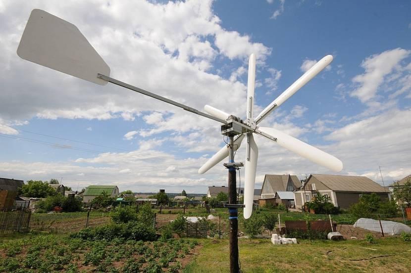 Ветрогенератор на своем загородном участке