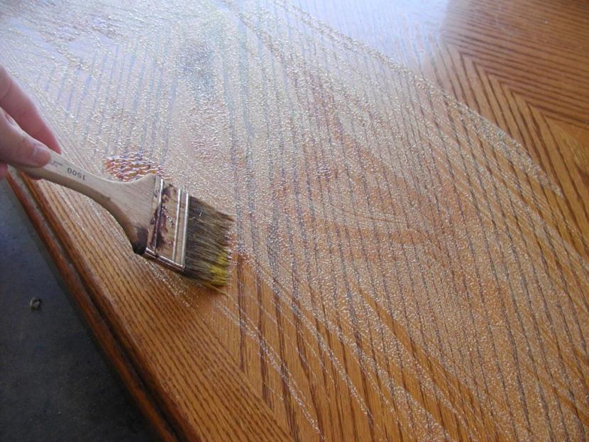 Подготовка дверного полотна