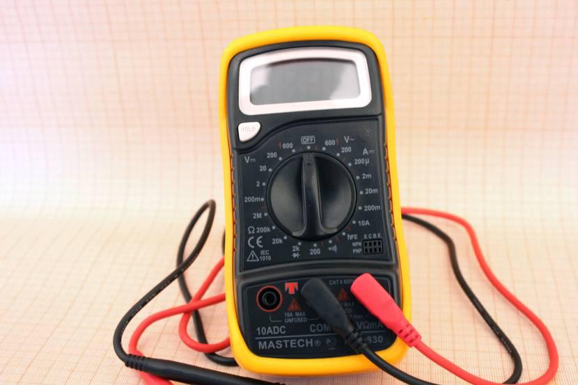 Мультиметр может использоваться для проверки некоторых диодов