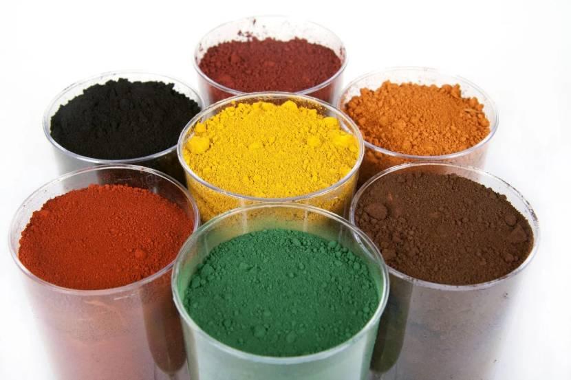 Пигменты для краски по бетону