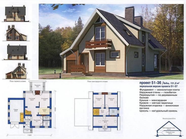 Проект домов из кирпича двухэтажные фото френч полосками