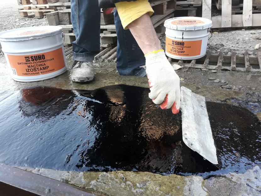 В битум можно добавлять органические или синтетические добавки