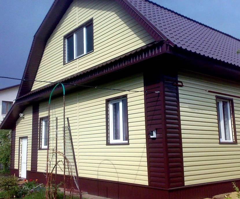 грунт для профнастил для фасада фото домов только
