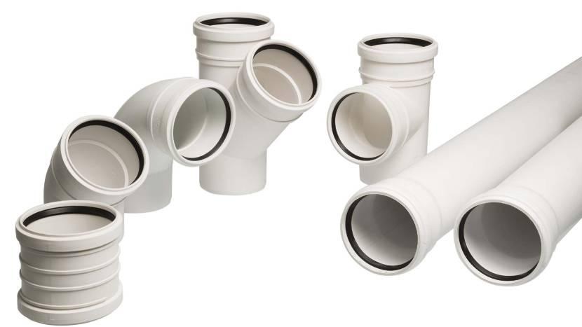 Комплектующие для устройства бесшумной канализации