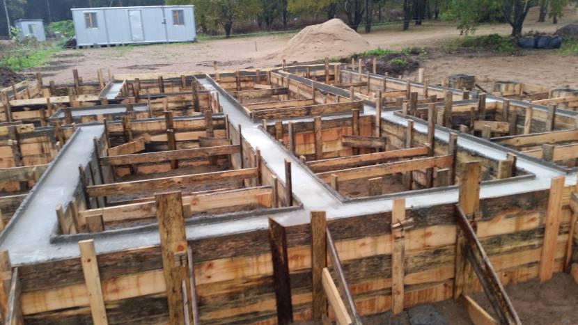 Опалубка для вызревания бетона