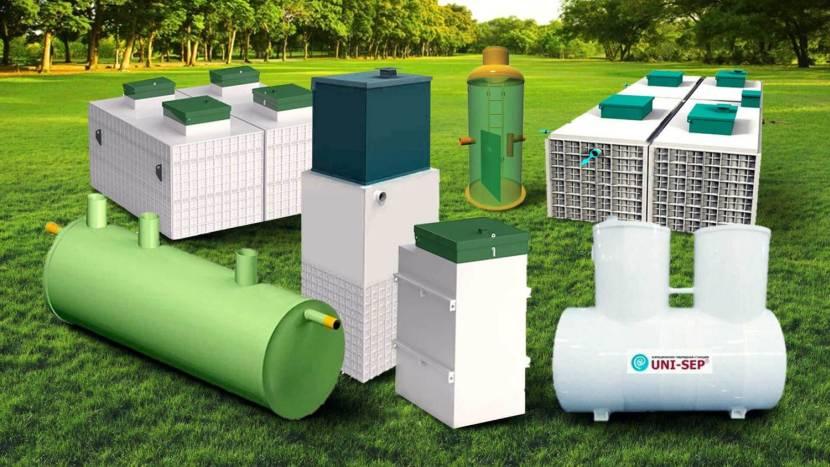 Современные конструкции для утилизации стоков