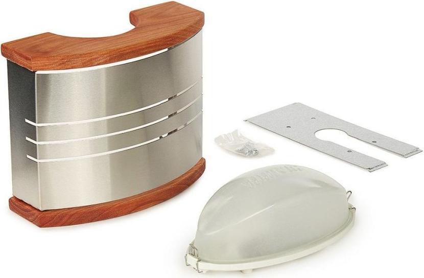 Стандартный вариант светильника для бани