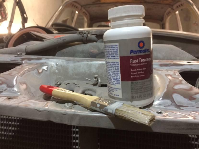 Permatex Rust Treatment уничтожит ржавчину
