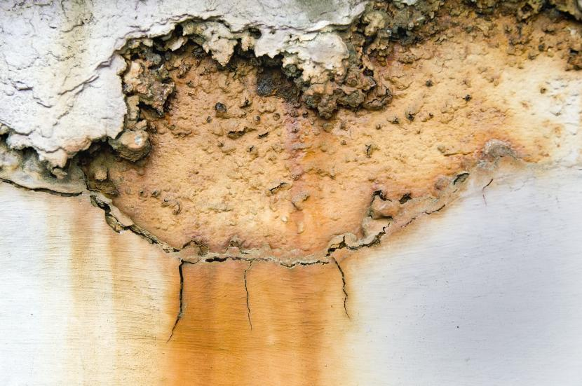 Коррозия бетона под действием кислоты