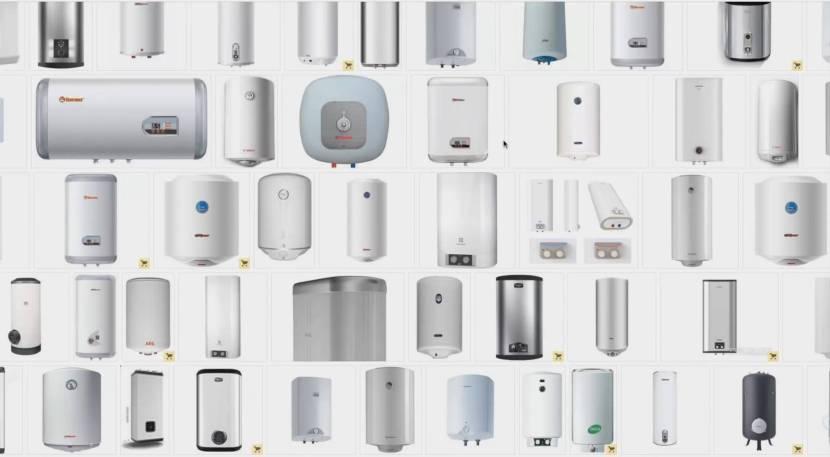 Производители выпускают широкий модельный ряд нагревателей воды
