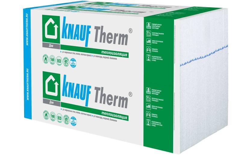 Теплоизоляция Knauf Therm