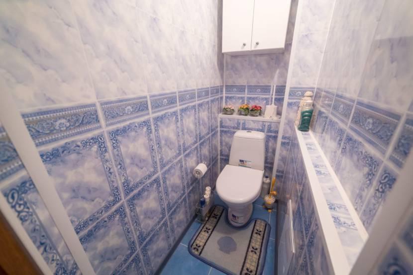 Туалет с системой коробов