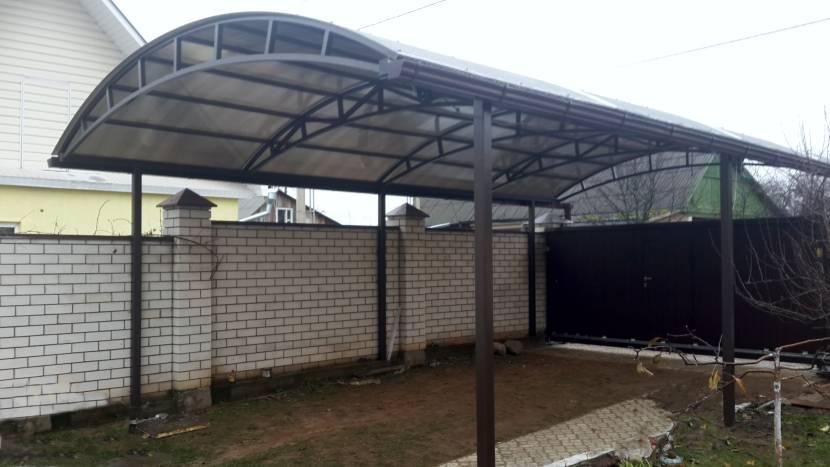 Арочная крыша