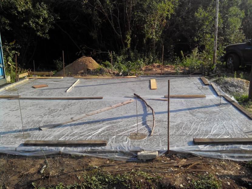 Защита бетона от солнца и дождя после заливки