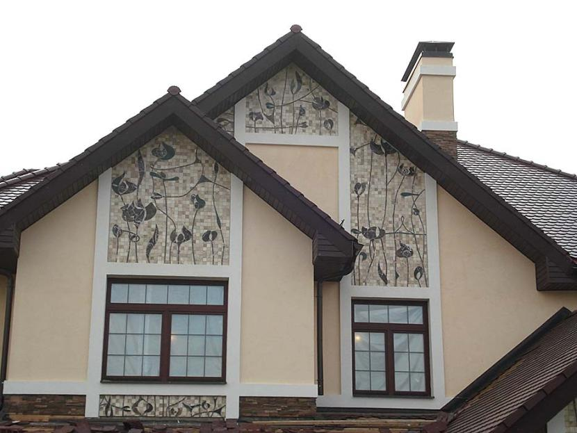 Мозаичный фасад