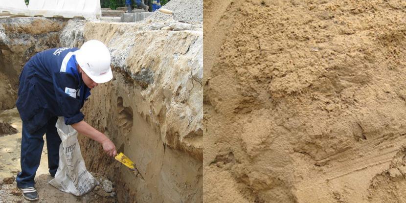 Песчано-пылеватый грунт – плохая база для фундамента
