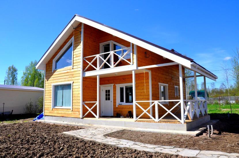 Классический каркасный дом