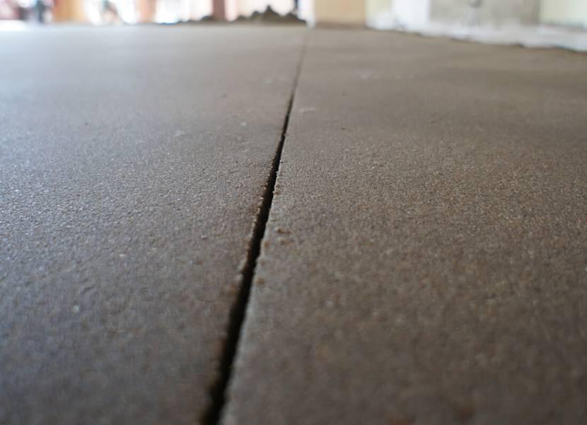 Деформационный шов бетонного пола